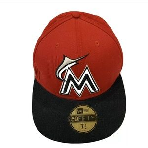 🧢Florida Marlins fitted hat
